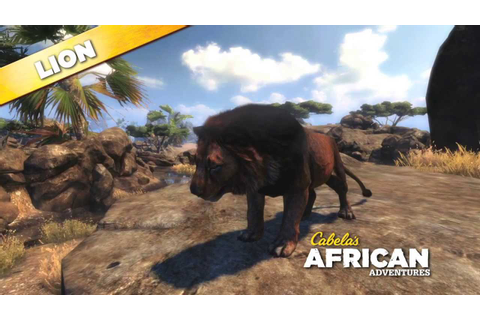 Cabela's African Adventures Lion 360 - YouTube