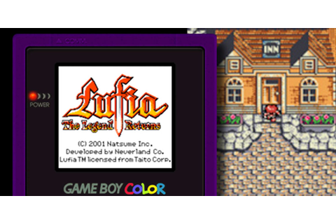 Lufia®: The Legend Returns | Game Boy Color | Games | Nintendo