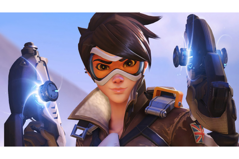 We're getting a blonde Tracer for Overwatch Anniversary ...