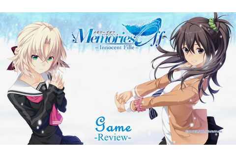 Game Review - Memories Off ~ Innocent Fille - YouTube