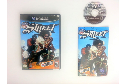 NFL Street Football game for Gamecube (Complete) | The ...