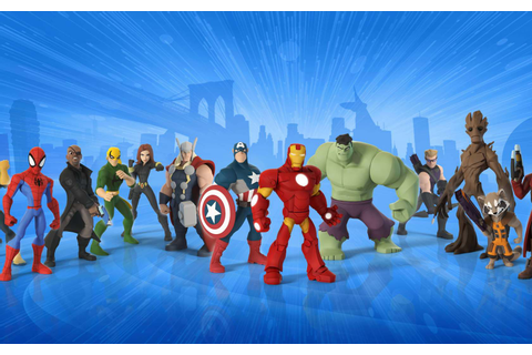 Download Disney Infinity All Marvel Super Heroes 1024x768 ...