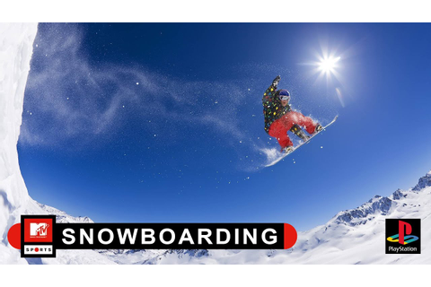 'MTV Sports: Snowboarding' Intro Video - YouTube