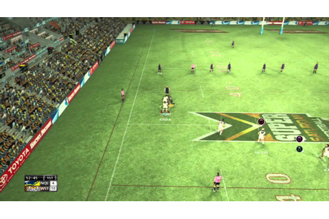 rugby league live 2 game play Preliminary Final cowboys vs ...