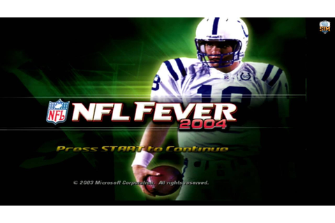 NFL Fever 2004 Roster Editor Coming Soon! - YouTube