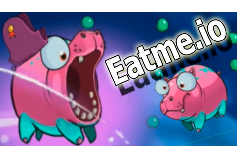 games Eatme.io розовый Бегемот - Eatme.io: Hungry fish fun ...