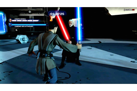 Kinect Star Wars - Duel Gameplay - YouTube