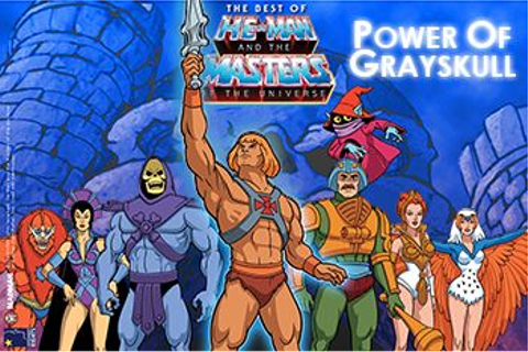 Masters of the Universe He-Man: Power of Grayskull ...