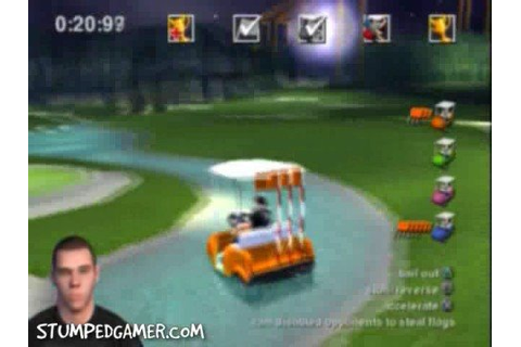Jackass The Game - PS2 - 27 - Eps 5 - Golf War - YouTube