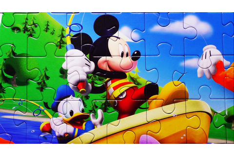 Puzzle Game Disney CLUBHOUSE Mickey Mouse Clementoni ...