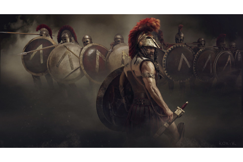 ArtStation - ROME II – Spartan Edition -game, Mariusz ...