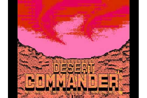 Desert Commander (NES) Music - Game Theme 2 - YouTube