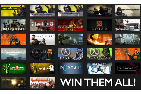 Win: VALVE Game Bundle - The Awesomer