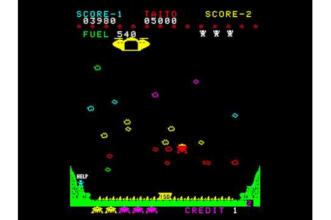 Arcade Game: Lunar Rescue (1979 Taito) - YouTube