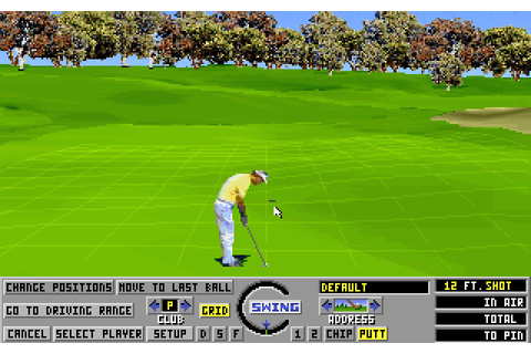 Links: The Challenge of Golf sports for DOS (1990 ...