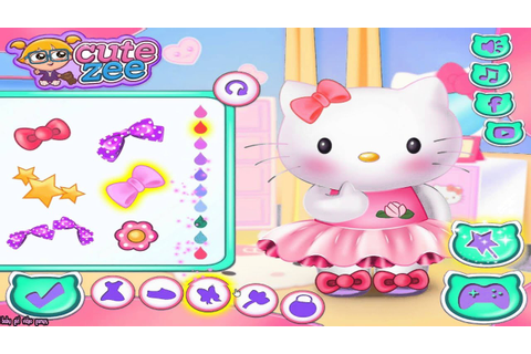 Hello Kitty Prom Prep Game - Hello Kitty Games - Baby Girl ...