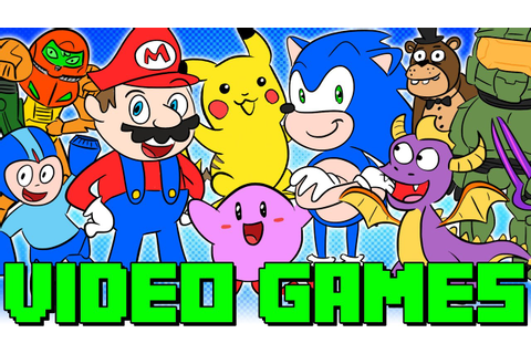Video Game History | Mario, Minecraft & More! | Kids Wiki ...