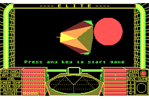 GAMES:Elite - DOSBoxWiki