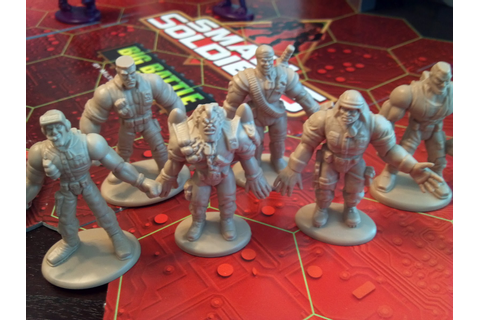 Small Soldiers Big Battle Game | A Board Game A Day