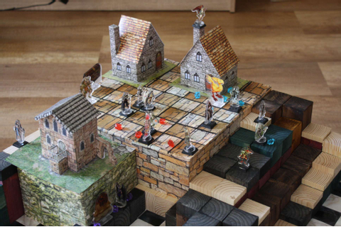 This unofficial Final Fantasy Tactics board game is ...