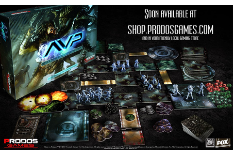 Aliens Vs. Predator Miniatures Game | Wargaming Hub