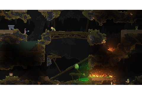 Noita is a roguelite that physically simulates everything ...
