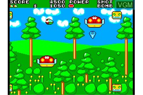 Fiche du jeu Fantasy Zone II - The Tears of Opa-Opa sur ...