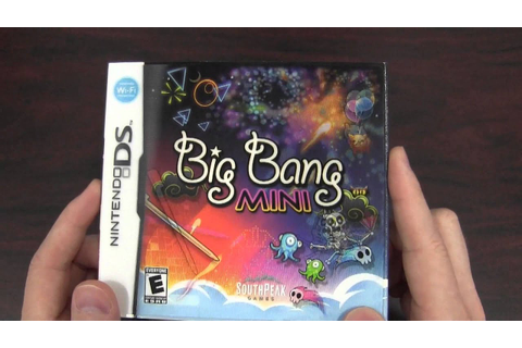 CGRundertow BIG BANG MINI for Nintendo DS Video Game ...