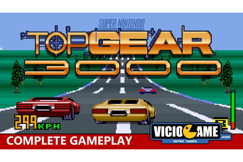 Top Gear 3000 (SNES) Complete Gameplay - YouTube