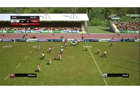 Rugby World Cup 2011 RWC Gameplay (Full Game) Wales vs ...