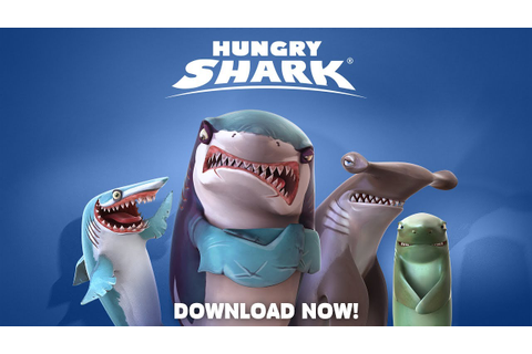 Hungry Shark Games - Time to get sharky! - YouTube