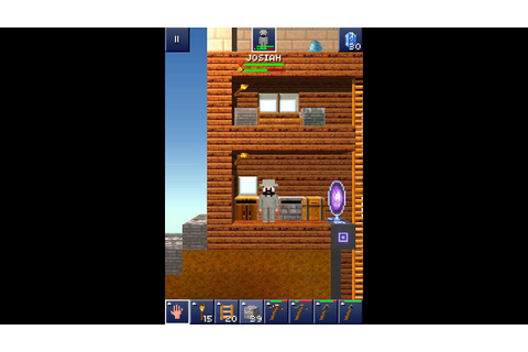 The Blockheads iOS-gameplay - YouTube