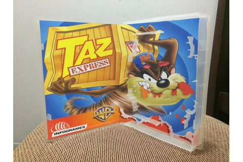 Taz Express N64 video game case | Game Case King - Custom ...