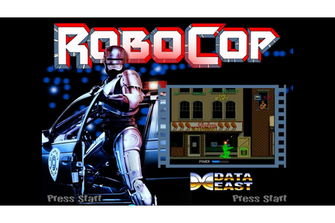 RoboCop: The Future Of Law Enforcement (Arcade) - YouTube