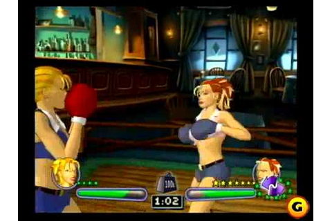 Video Game Women's Boxing - YouTube