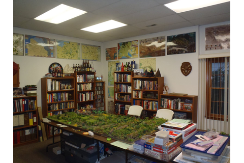 Wargame Bayou: An Awesome War Room