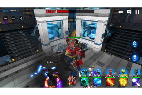 Power Rangers: All Stars Mobile Game Is Out Now On Android ...