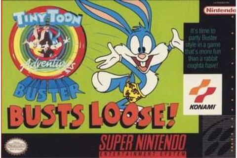 Tiny Toon Adventures: Buster Busts Loose! - Wikipedia