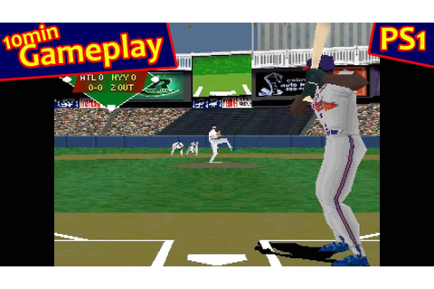 VR Baseball 97 ... (PS1) 60fps - YouTube