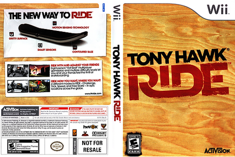 RX5E52 - Tony Hawk: Ride