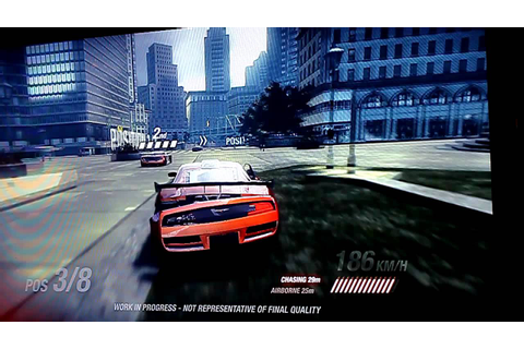 Ridge Racer Unbounded: Aggressive gameplay HD, 2011 ...
