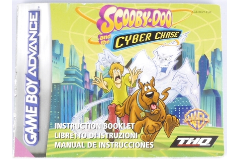 Scooby-Doo and the Cyber Chase / Mystery Mayhem (Manual ...