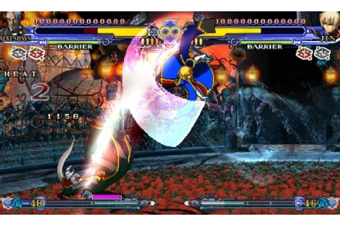 BlazBlue: Continuum Shift II (2011) 3DS game
