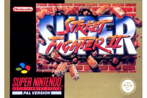Super Street Fighter II: The New Challengers (SNES / Super ...