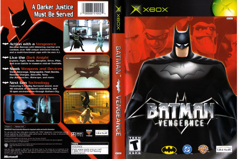 Xbox Game Review: Batman Vengance ~ xbox m0dz