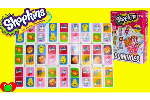 Shopkins Dominoes Game - YouTube