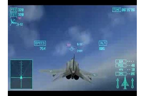 Ace Combat X: Skies of Deception PSP - YouTube