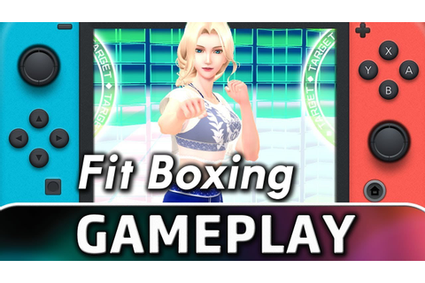 Fitness Boxing | 10 Minutes of Gameplay on Switch - YouTube
