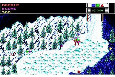 Ski or Die Download (1990 Sports Game)