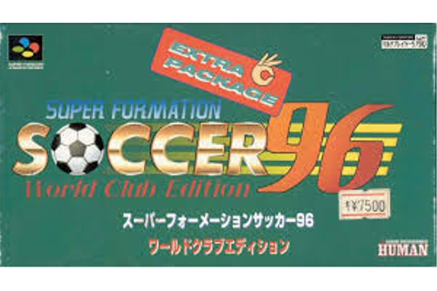Super Formation Soccer '96 - World Club Edition (Japan) ROM